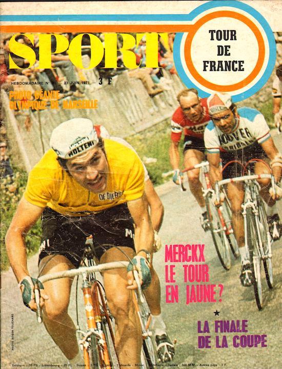 SPORT N° 20 du 23 juin 1971 01 Merckx le Tour en jaune