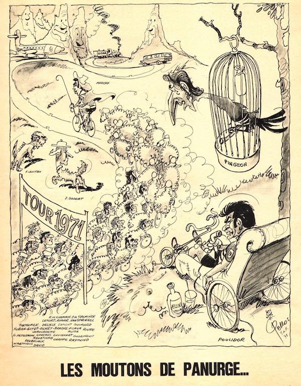 SPORT N° 21 du 30 juin 1971 03 PELLOS Les moutons de panurge - Poulidor & Pingeon