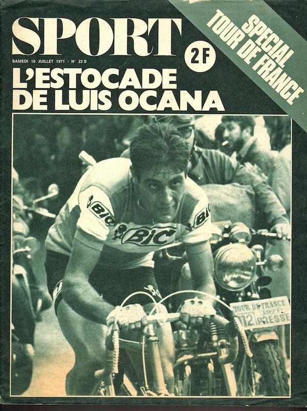 SPORT N° 22 Bis du 10 juillet 1971 01 L'estocade de Luis Ocana