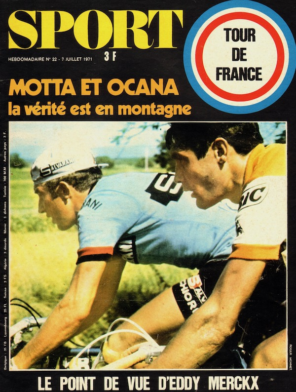 SPORT N° 22 du 7 juillet 1971 01 Ocana & Motta 2