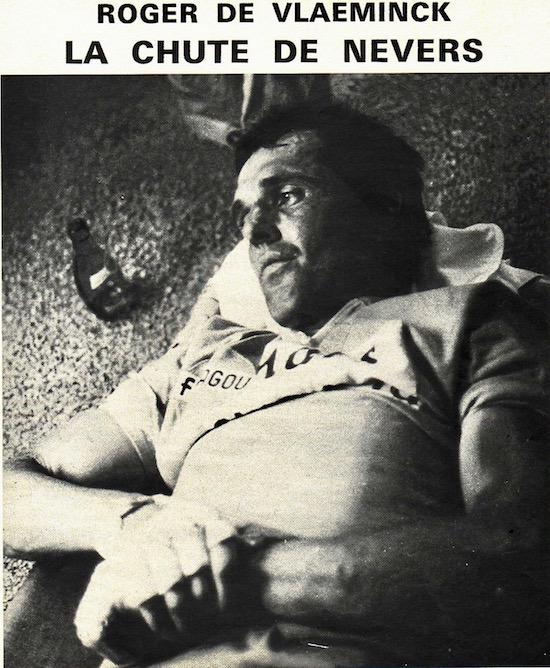 SPORT N° 22 du 7 juillet 1971 15 Chute & abandon de De Vlaeminck