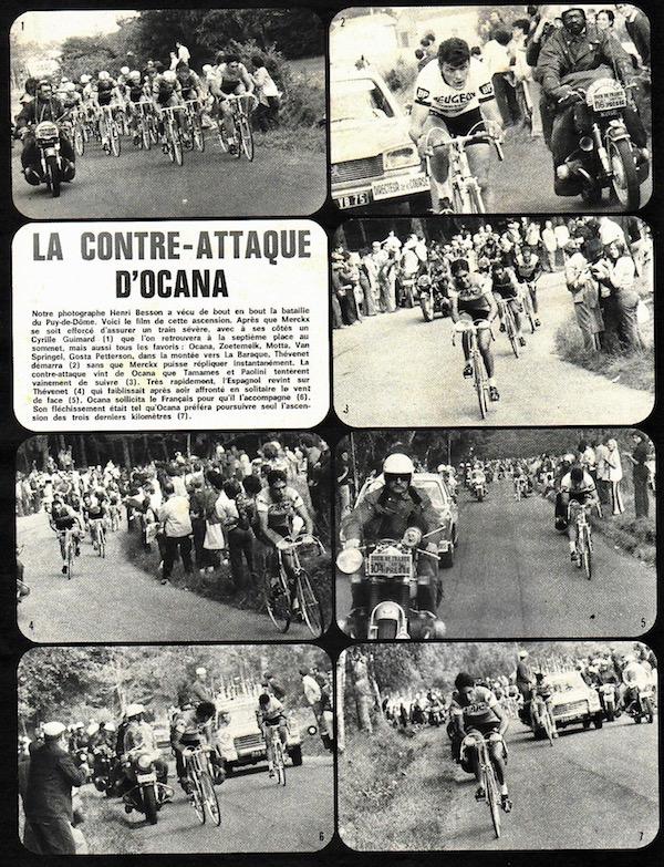 SPORT N° 23 du 14 juillet 1971 08 Puy de Dôme - La contattaque d'Ocana