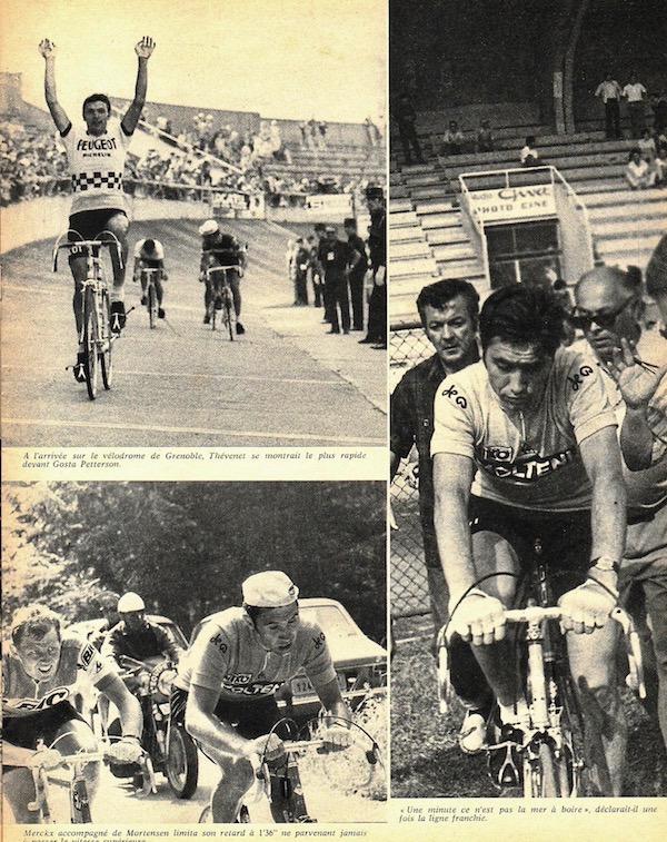 SPORT N° 23 du 14 juillet 1971 13 Saint Etienne - Grenoble Col du Cucheron