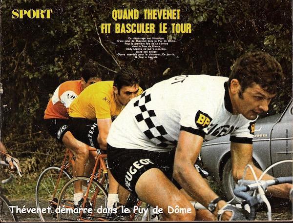 SPORT N° 23 du 14 juillet 1971 32 Thévenet - Puy de Dôme 2