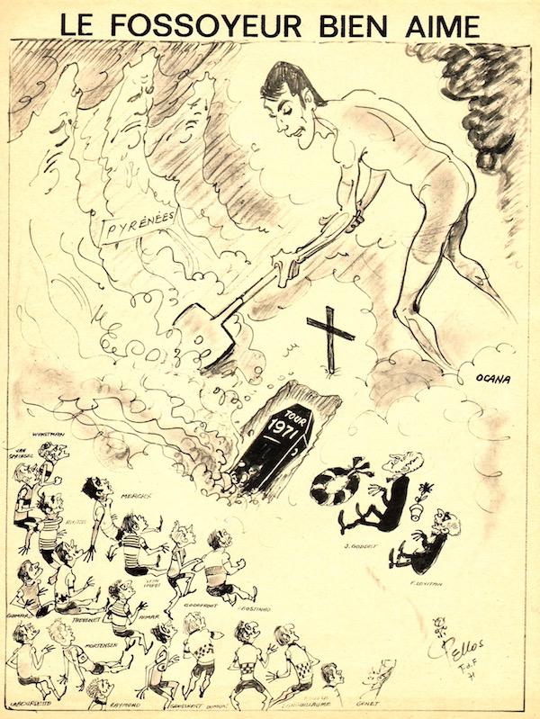 SPORT N° 24 du 21 juillet 1971 03 PELLOS - Ocana le fossoyeur bien aimé