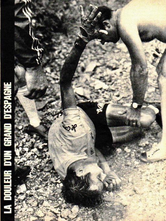 SPORT N° 24 du 21 juillet 1971 08 Ocana - La chute