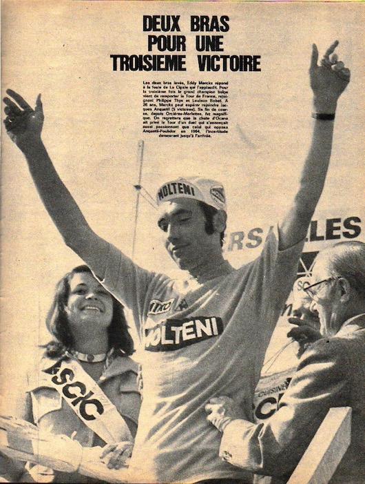 SPORT N° 24 du 21 juillet 1971 23 Merckx